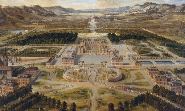 Schloss Versailles als Vorbild für Luxus