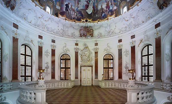 Kuppelsaal im Schloss Bruchsal