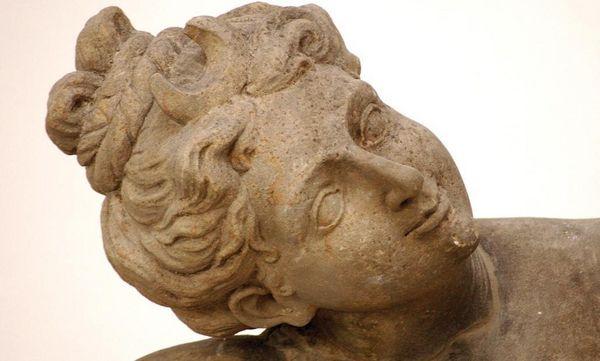 Figur im Lapidarium, Residenzschloss Ludwigsburg