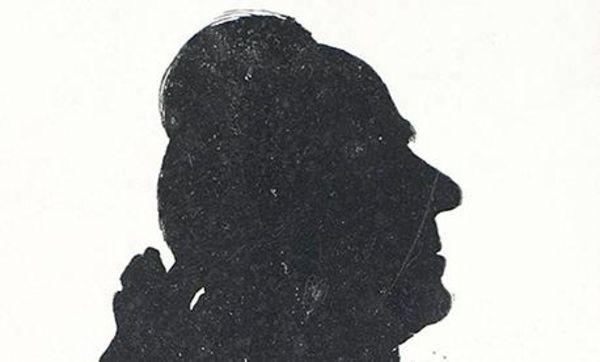 Porträt Joseph Uriots, Schattenriss