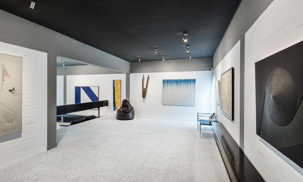 Sammlung Domnick, Blick in den Ausstellungsraum