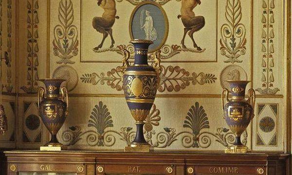 Teil des Registraturzimmers König Friedrichs I. im Residenzschloss Ludwigsburg; Foto: Staatliche Schlösser und Gärten Baden-Württemberg, Arnim Weischer